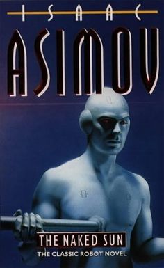 """If you haven't ever given classic sci-fi author Isaac Asimov a try, Victoria would like to encourage you to do so.  """"This novel is part of the Robot series but it is fine as a stand alone novel. A perfect blend of murder mystery and science fiction, this is a """"locked room"""" mystery with a clever twist.""""  4 stars!"""