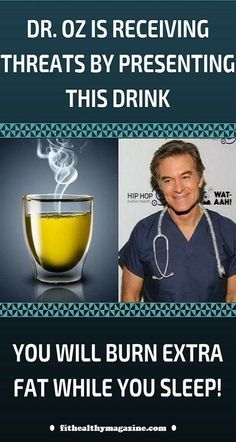Oz Is Receiving Threats By Presenting This Drink, Which Will Help You Burn Fat Day and Night (You will burn more fat while you sleep) - Only Herbal Medicine Dr. Oz, Detox Drinks, Healthy Drinks, Healthy Tips, Healthy Dishes, Healthy Shakes, Healthy Pastas, Healthy Detox, Healthy Smoothies