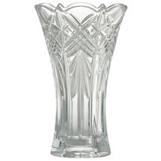 Galway Crystal Symphony 8 Vase at IrishShop.com   BLK64008 ($35) ❤ liked on Polyvore featuring home, home decor, vases and galway