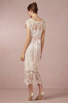 Ivory Lilly Dress | BHLDN