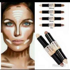 MakeupbyCamila: CONTORNO E ILUMINACIONES/COMO HACERLO/QUÉ USAR.: