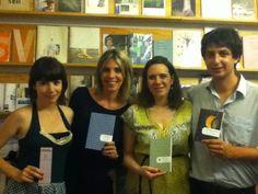 Presentación de novedades para fin de año, en librería Delta (2012)
