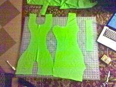 How to sew a ballroom dress