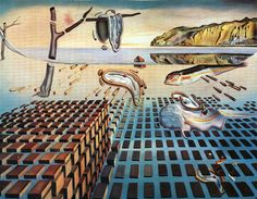 Salvador Dali - The Disintegration of the Persistence of Memory, 1952-1954, oil on canvas