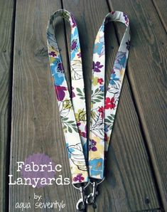 DIY Gifts To Sew For Friends - Fabric Lanyards - Quick and Easy Sewing Projects and Free Patterns for Best Gift Ideas and Presents - Creative Step by Step Tutorials for Beginners - Cute Home Decor, Accessories, Kitchen Crafts and DIY Fashion Ideas http://diyjoy.com/diy-gifts-to-sew-for-friends