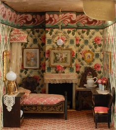Fabulous Dollhouse Rooms, from Carmel Doll Shop.