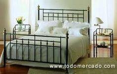 Resultado de imagen para imagenes respaldos de cama de hierro