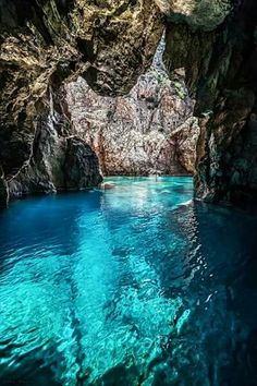 Inside the Masua cave -Sardinia