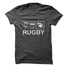 Eat. Sleep. Rugby. - #sleeve tee #cropped hoodie. ORDER HERE => https://www.sunfrog.com/Sports/Eat-Sleep-Rugby.html?68278