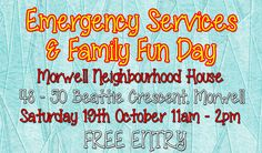 Emergency Services and Family Fun Day - http://morwellnh.org.au/emergency-services-and-family-fun-day/