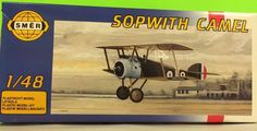 SMER Sopwith Camel WW1 Model Airplane Kit, complete and unused. This kit is in perfect condition, box has been opened. Excellent addition to military or aviation collectors. | eBay!