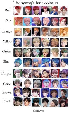 Taehyung Hair Colors Free Patterns and Tutorials . - Taehyung hair colors Free patterns and tutorials - Bts Taehyung, Bts Jimin, Taehyung Red Hair, Foto Bts, K Pop, Bts Playlist, V Bts Wallpaper, Bts Memes Hilarious, Album Bts