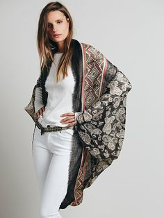 Free People Sammy Raw Edge Kimono, £38.00