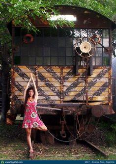 Yoga Poses | Tree Pose - by Mili F.