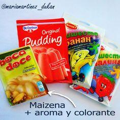 Preparados para Pudding sin azúcar: desde Crucero, contando tolerados  #Dukan #dietaDukan #Tolerados