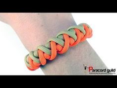 Cyclone wrap paracord bracelet - YouTube