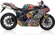 Special edition 'Kill Me Fast' Ducati bikes oozes art