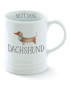 Look at this #zulilyfind! 'Dachshund' Mug #zulilyfinds