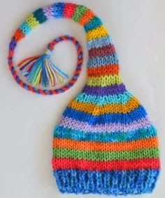Crochet baby hats See this on Ella in her favorite colors. : Crochet baby hats See this on Ella in her favorite colors. This will be fun … – Simple craft Baby Knitting Patterns, Baby Hats Knitting, Knitting For Kids, Loom Knitting, Free Knitting, Knitting Projects, Knitted Hats, Crochet Patterns, Crochet Baby Beanie