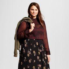 Women's Plus Size Ruffle Blouse - Who What Wear ™ : Target