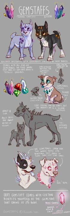 Gemstaffs Species Sheet by Fuki-adopts on deviantART