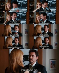 """""""You're not Iron Man.""""  """"Am so."""""""