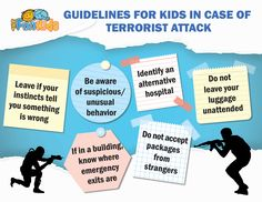 In Light of the Recent Terrorist Attack in Paris, This Post offers Precautionary Measures for Your Kids in Case of a Terrorist Threat! #terroristattack