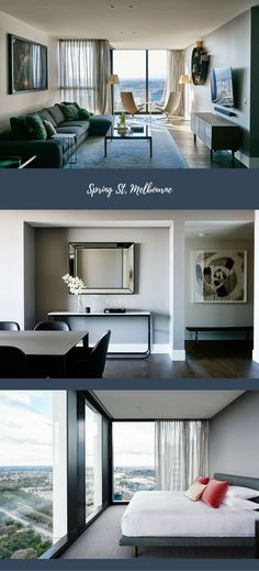 Spring St, Melbourne, a Luxico Holiday Home Melbourne House, Luxury Holidays, Homes, Spring, Houses, Home, At Home