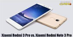 Xiaomi Redmi 3 Pro vs. Xiaomi Redmi Note 3 Pro - Producto Chino