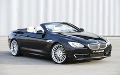 2015 bmw 6 series convertible hamann in black || can you imagine cruising down near the beach in one of these? Whew.