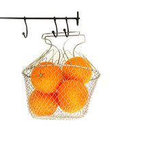 Vintage Wire Egg Basket collapsable metal wire by millyscollection