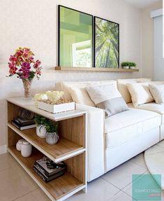Home Room Design, Living Room Designs, House Design, Flat Interior Design, Sofa Side Table, Piece A Vivre, Living Room Tv, House Rooms, Sofa Design