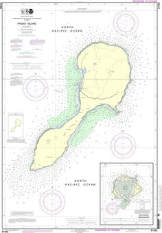 Assorted used Admiralty Maritime Nautical Charts