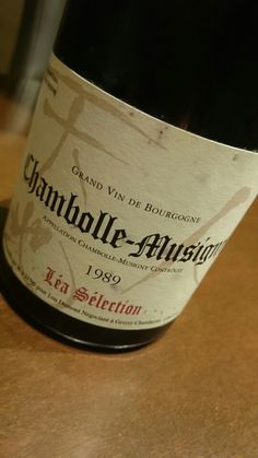 Chambolle-Musigny 1989 Lea Selection