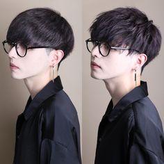 Korean Haircut Men, Asian Men Short Hairstyle, Korean Boy Hairstyle, Asian Boy Haircuts, Asian Haircut, Korean Short Hair, Haircuts For Men, Korean Hairstyles, Korean Hair Color