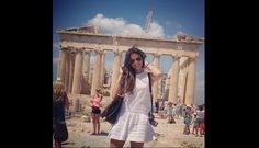 FOTOS: Bruna Marquezine, la bella novia de Neymar, de vacaciones en Grecia