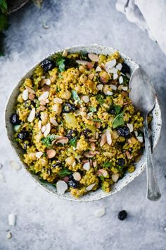 One Pot Moroccan Chickpea Quinoa Salad | Ambitious Kitchen