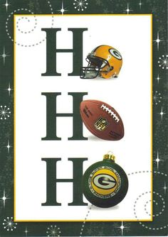 Green Bay Packers Christmas Card we need these for this year's christmas card! Packers Baby, Go Packers, Packers Football, Best Football Team, Football Baby, Greenbay Packers, Packers Funny, Football Crafts, Vikings Football