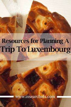 Preparing For A Trip To Luxembourg City