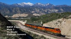 BNSF Cajon Pass- Main 3 and Its 3% Grade in Action!