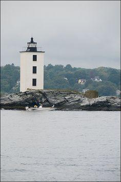 Dutch Harbor Light House - Jamestown, RI by md91180, via Flickr