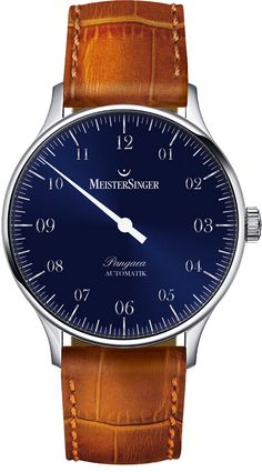 Meistersinger Pangaea Royal Blue Automatic One Hand Watch €1949