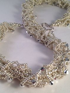 Sparkling silver Oglala necklace by XxxWithyouinmindxxX on Etsy
