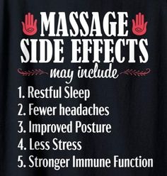 funny Massage side effects funny massage therapist humor humour Massage Therapy Humor, Massage Meme, Physical Therapy Humor, Massage Therapy Rooms, Massage Room, Spa Massage, Funny Massage Quotes, Massage Marketing, Mobile Massage