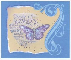 Stamp-it Australia: 3585E Friends are Angels, 3589F Swirl Whirl - Card by Susan