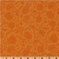 Online Shopping for Home Decor, Apparel, Quilting & Designer Fabric Wedding Fabric, Fabric Design, Sewing Projects, Curtains, Quilts, Orange, Floral, Home Decor, Insulated Curtains