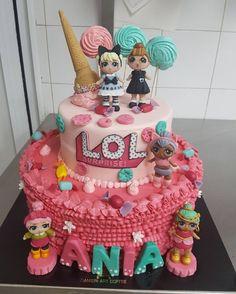 Lol Surprise! #lolsurprise #pasticceria #pasticceria_italiana #italy #dolls #dolllovers #instacake #fashiongirls #likepink #lolsurpriseseries2 #lolsurpriseseries3 #lol_surprise #surprise #adorable #name #party #toy #baby #cakemania #lovemyjob #passionwork #zucchero #pdz #icecream #lolipop #candy