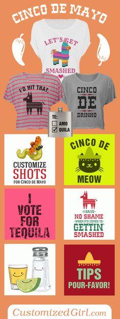Cinco De Mayo Shirts