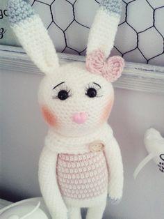 Amigurumi Bunny, Królik, Króliczek, szydełko, crochet