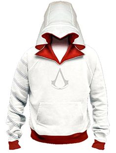 XYZcos Big Boys AC Ezio Pullover Hoodie Jacket Sweatshirt Outwear Size 16 *** To view further for this item, visit the image link.